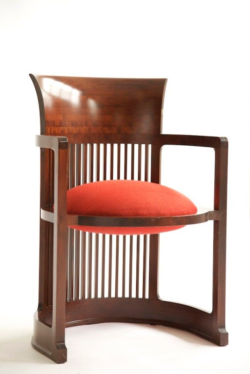 Frank Lloyd Wright Barrel Chair At 1stdibs
