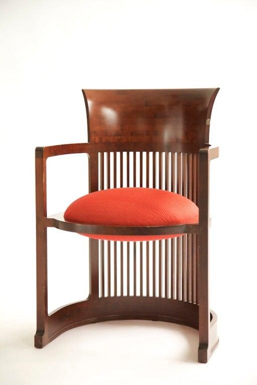 Frank Lloyd Wright Barrel Chair 3