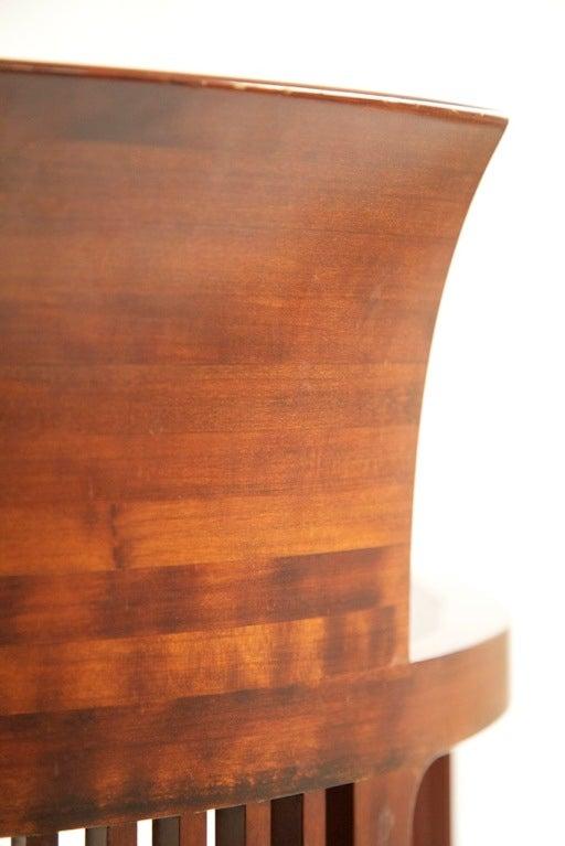 Frank Lloyd Wright Barrel Chair 6