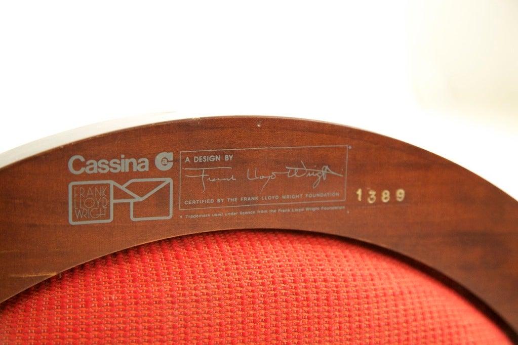 Frank Lloyd Wright Barrel Chair 10
