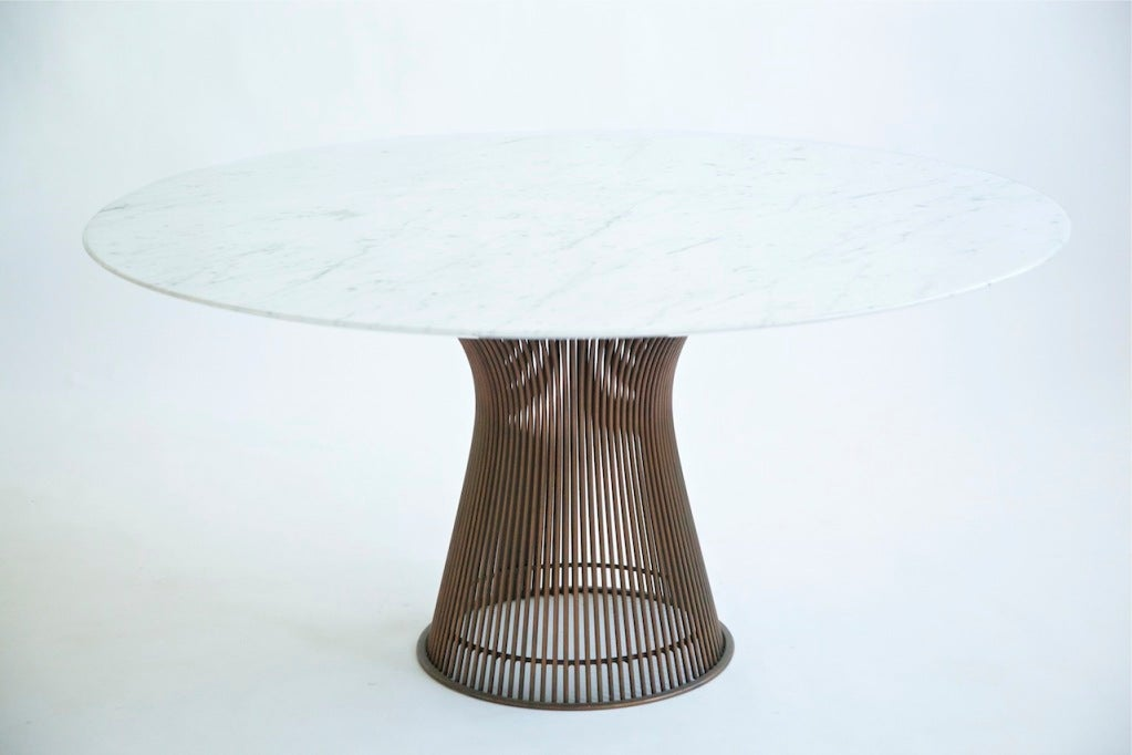 Warren Platner Dining Table at 1stdibs : 847413539855273 from 1stdibs.com size 1023 x 682 jpeg 50kB