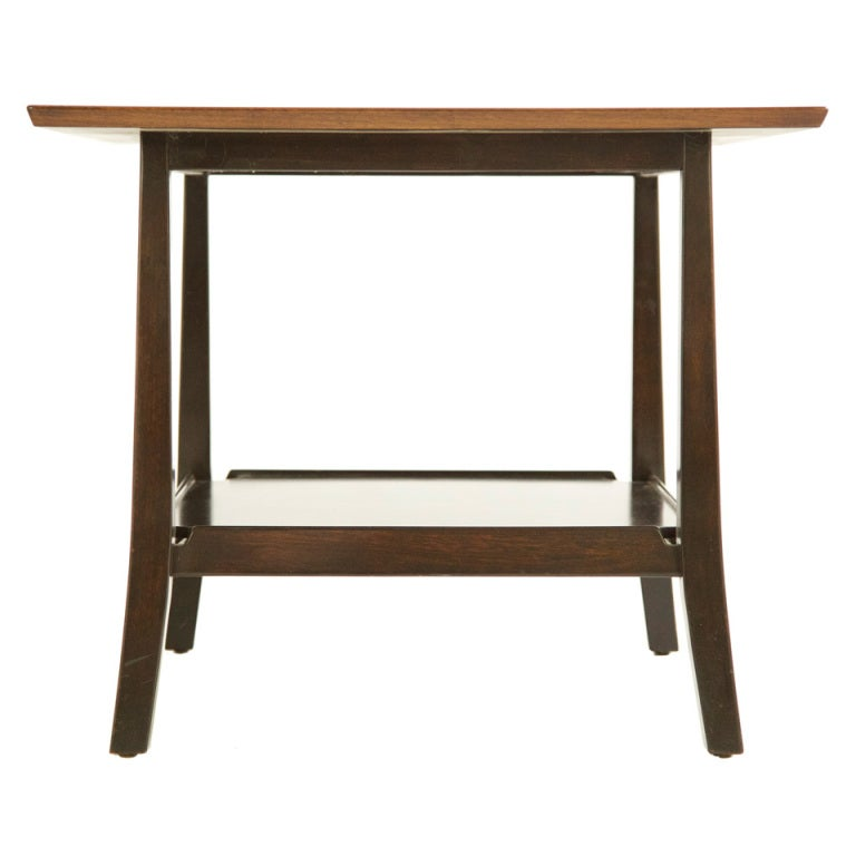 Edward Wormley Janus Corner End Table At 1stdibs