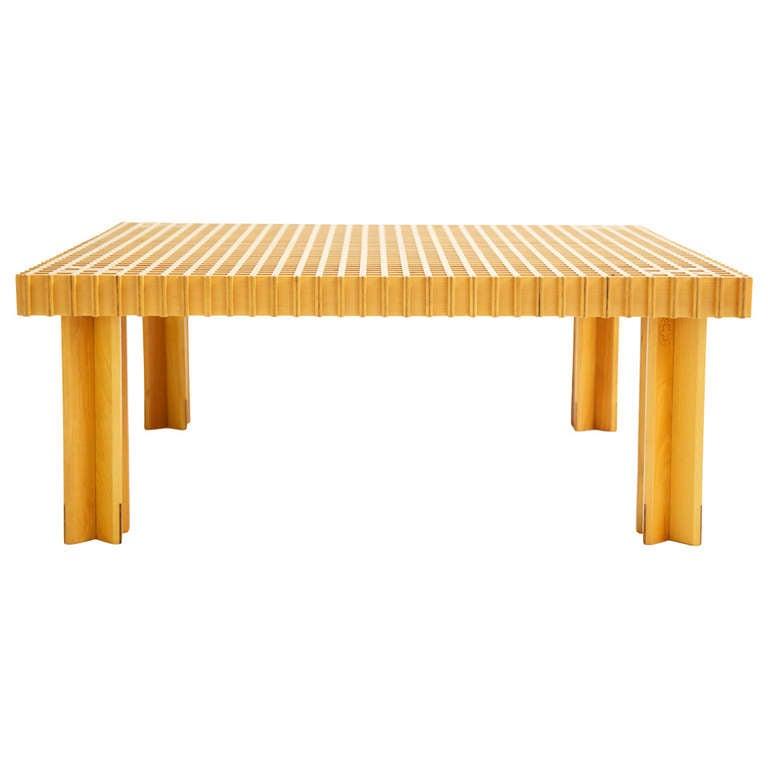 Gianfranco Frattini Kyoto Table For Sale At 1stdibs