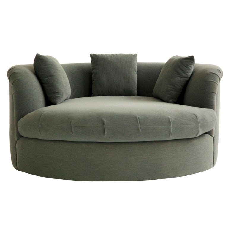Milo baughman sofa chaise at 1stdibs for Chaise couch lounge