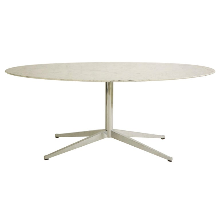 florence knoll dining table desk at 1stdibs. Black Bedroom Furniture Sets. Home Design Ideas