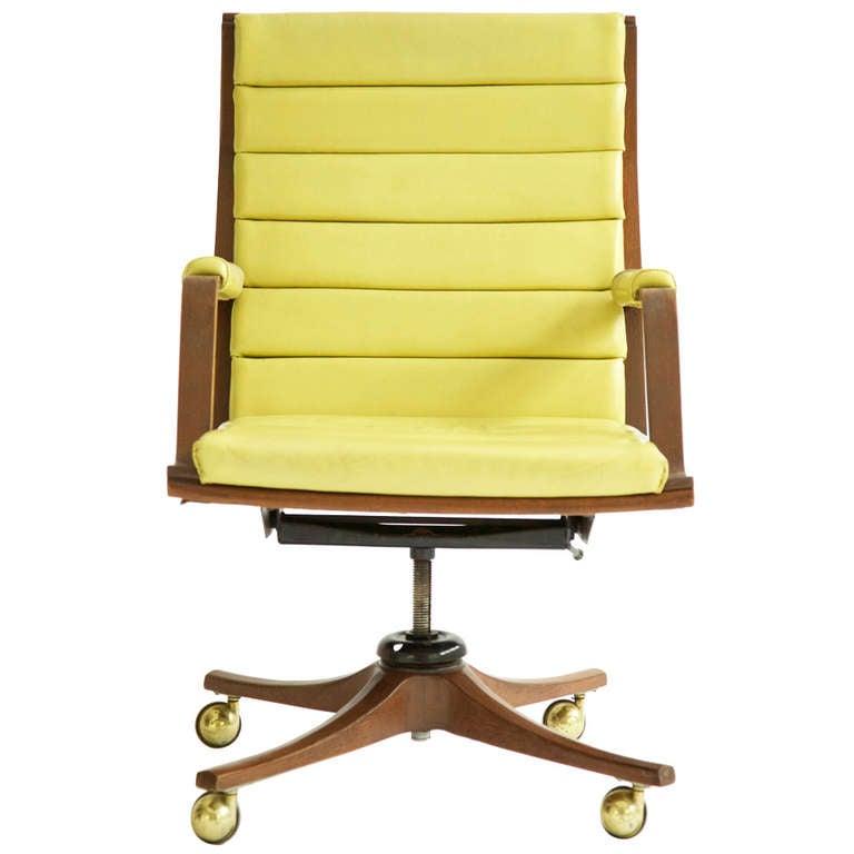 Edward wormley desk chair at 1stdibs - Edward wormley chairs ...