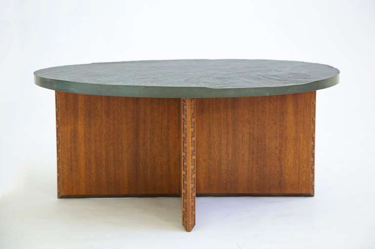 Frank Lloyd Wright Coffee Table At 1stdibs