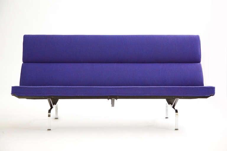 charles eames sofa compact girard fabric at 1stdibs. Black Bedroom Furniture Sets. Home Design Ideas
