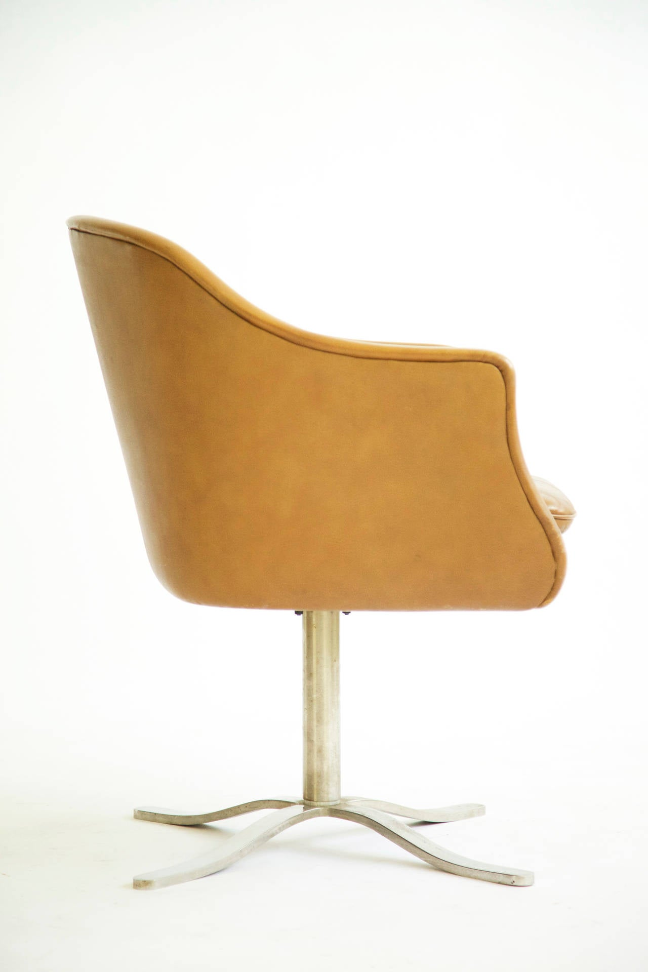 Nico Zographos Low Back Bucket Chair at 1stdibs