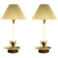 Pair of Frederick Cooper Lamps