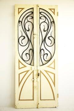 Pair of Art Nouveau  Doors