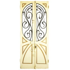 Pair of Art Nouveau  Doors