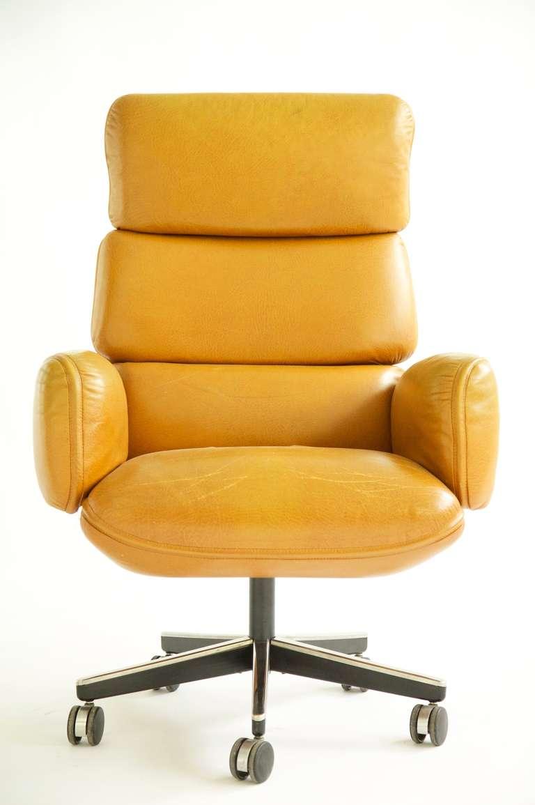 Otto Zapf Executive Desk Chair At 1stdibs