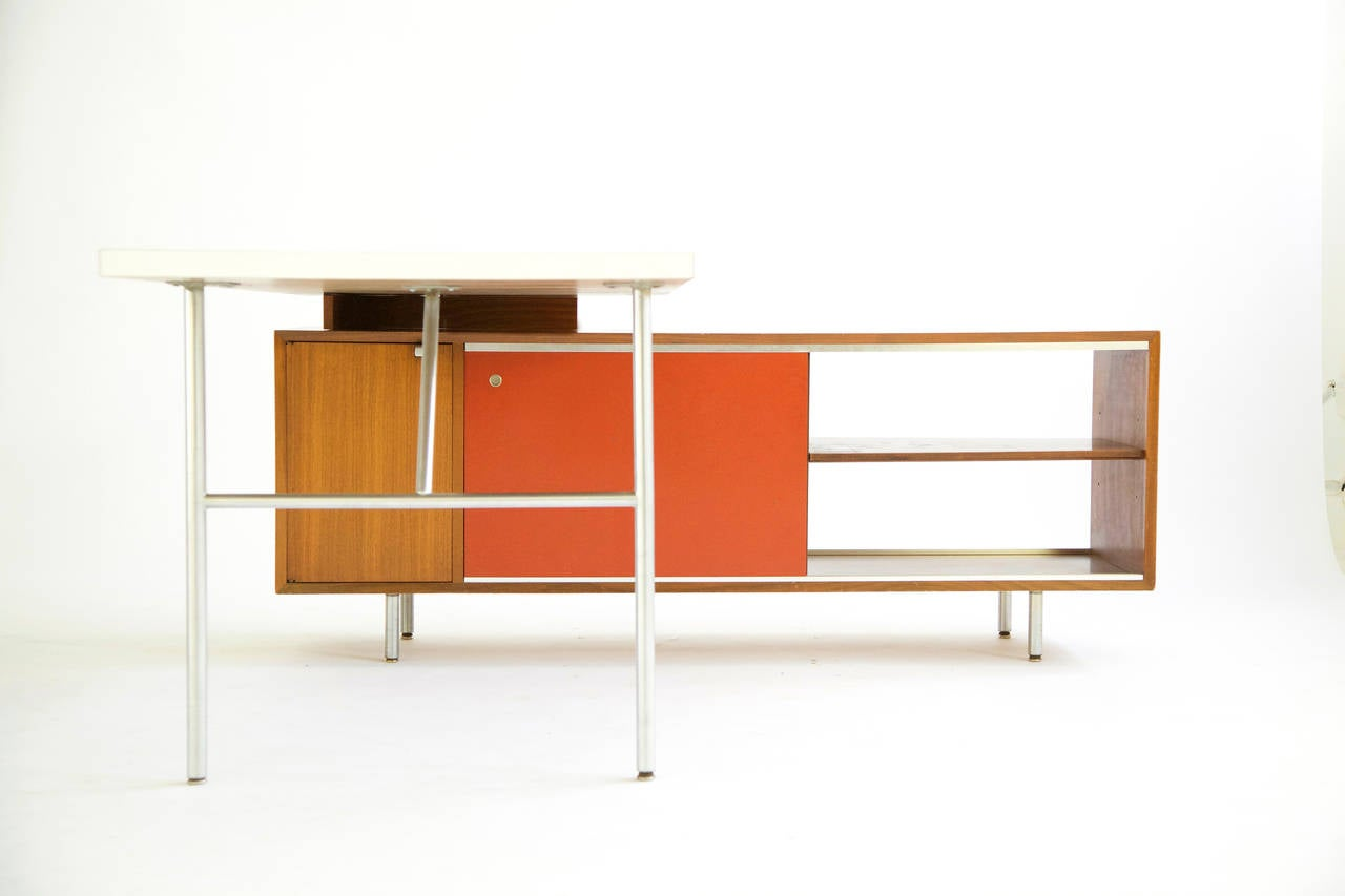 George Nelson Quot L Quot Shaped Desk At 1stdibs