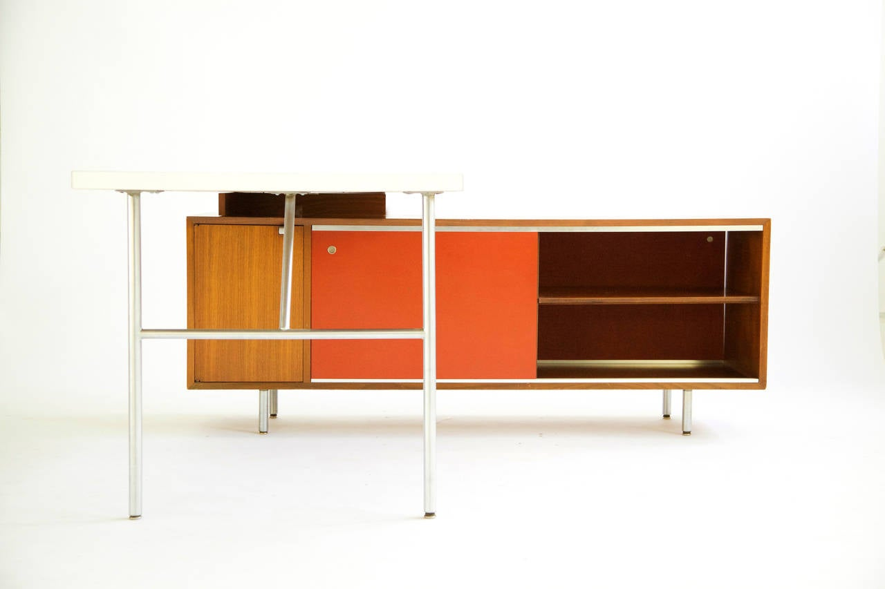 george nelson l 28 images l shaped desk by george nelson for herman miller at 1stdibs