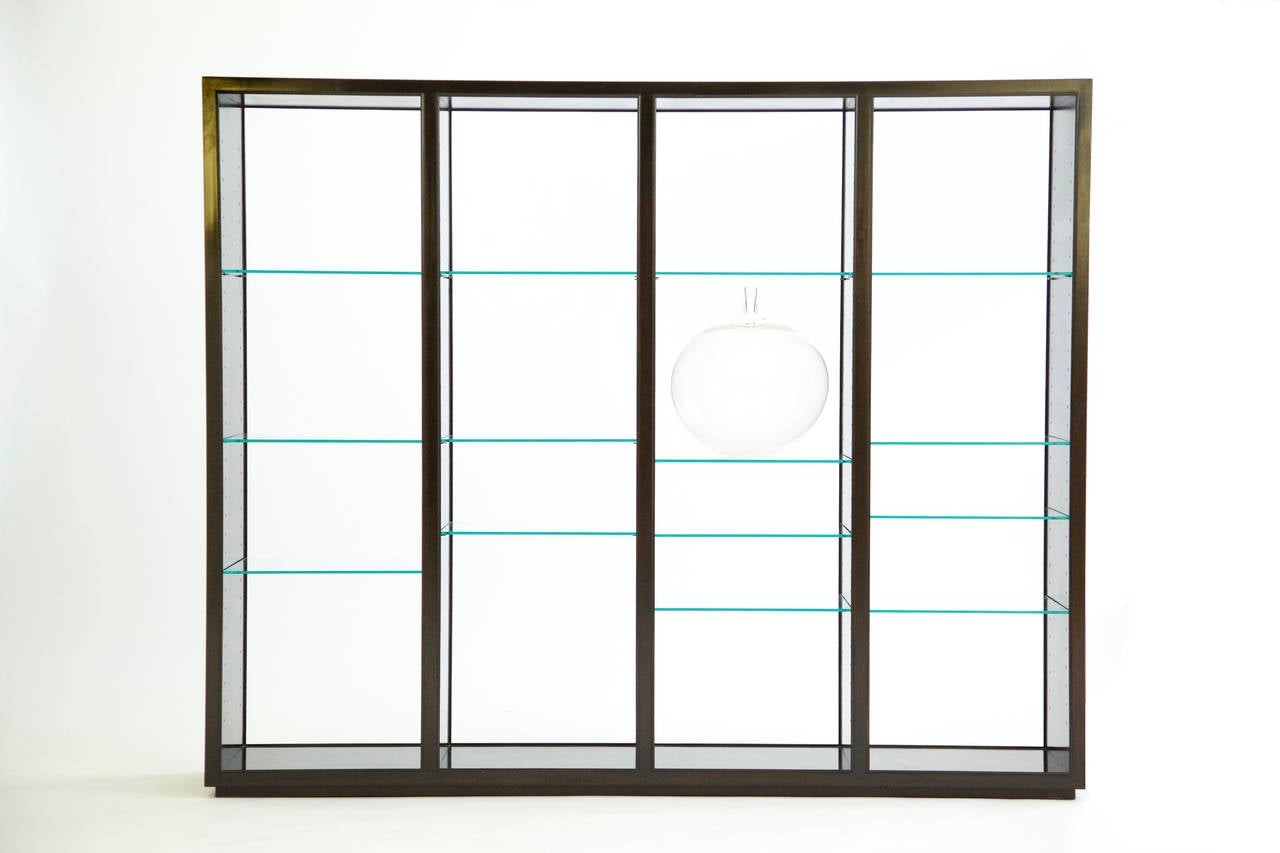 """Edward Wormley """"Superstructure"""" Room Divider Display Case 3"""