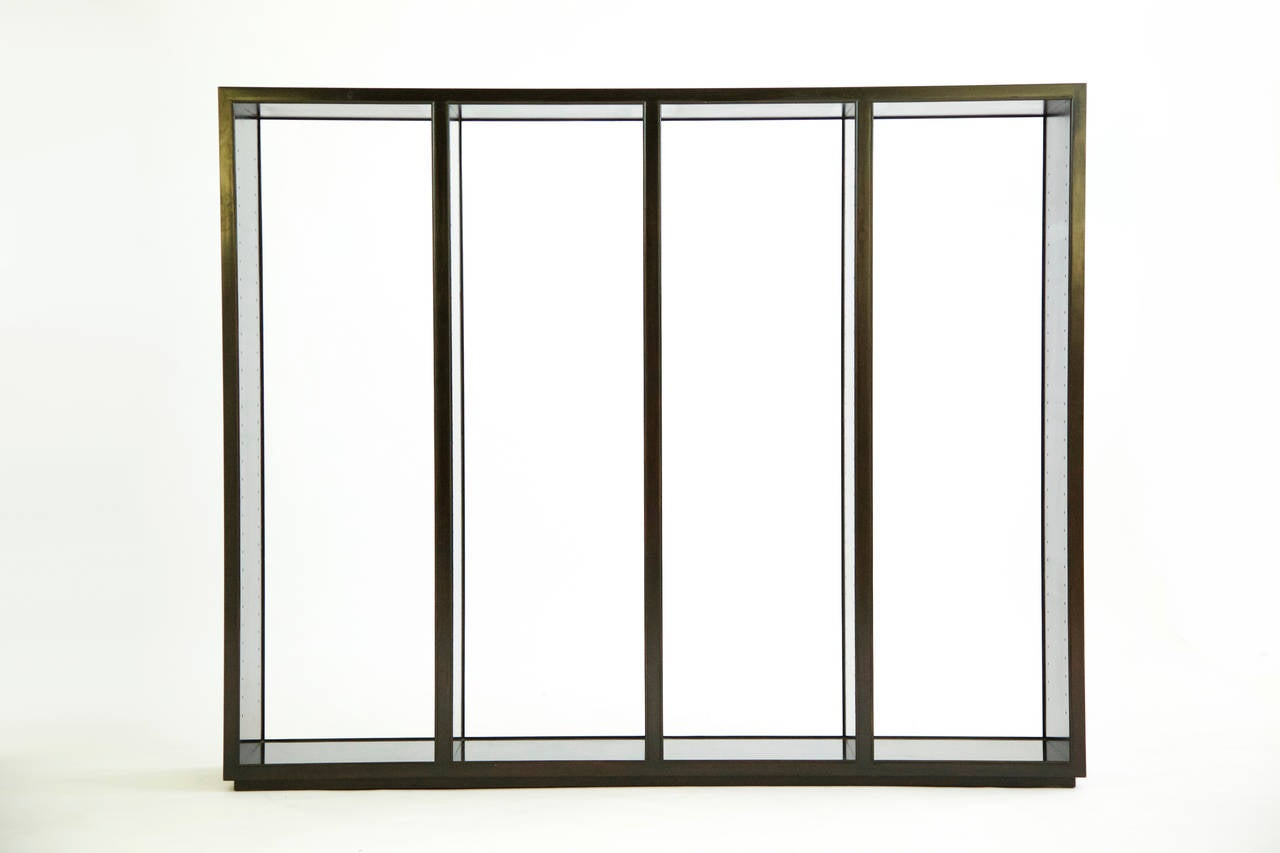 """Edward Wormley """"Superstructure"""" Room Divider Display Case 4"""
