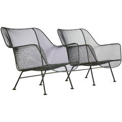 Pair of Russell Woodard Outdoor Lounge Chairs