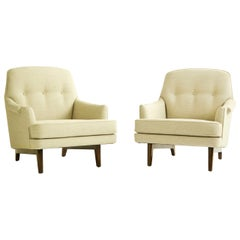 Pair of Roger Sprunger for Dunbar Lounges