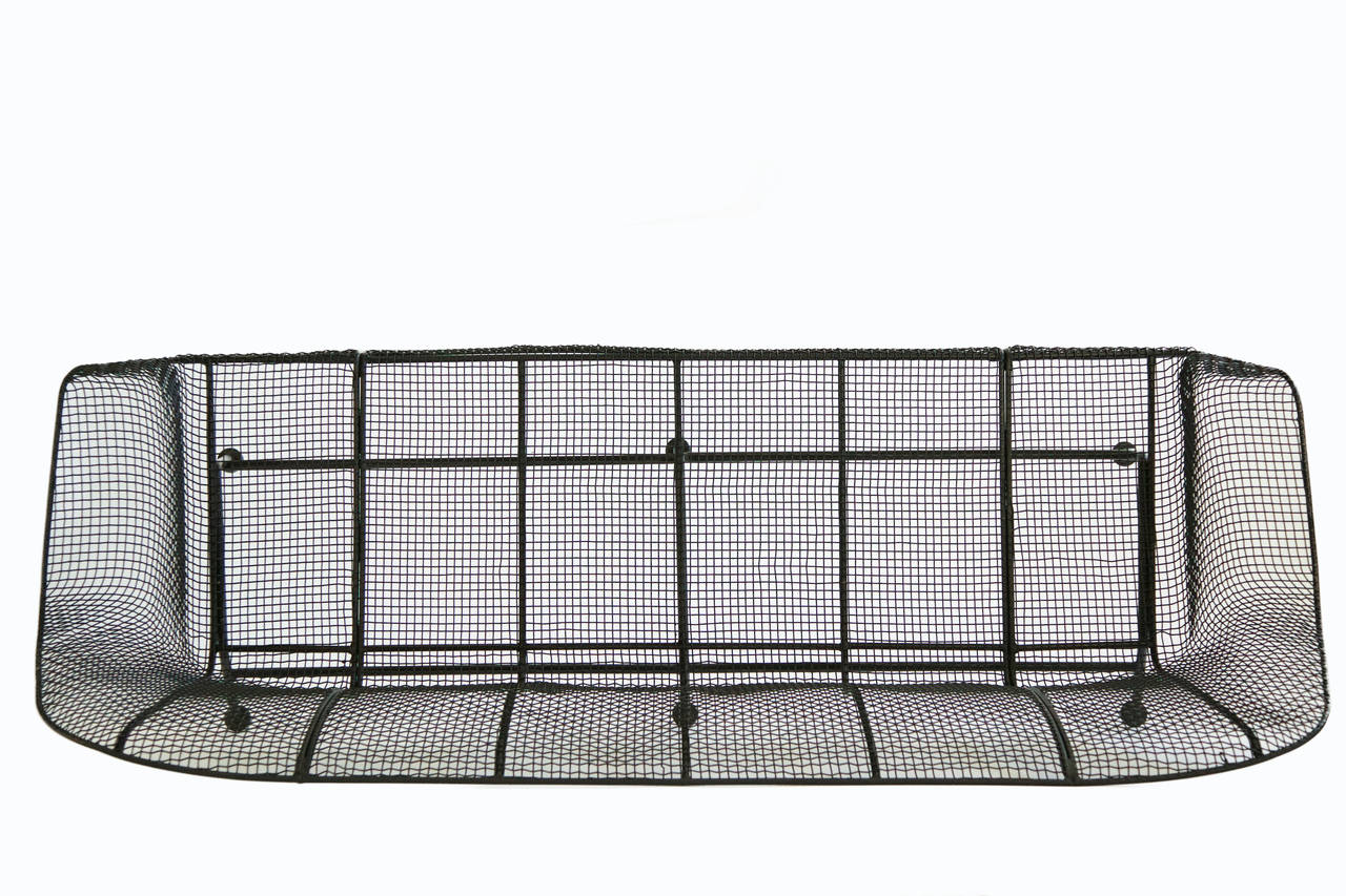 Russell Woodard Wire Mesh Sofa At 1stdibs