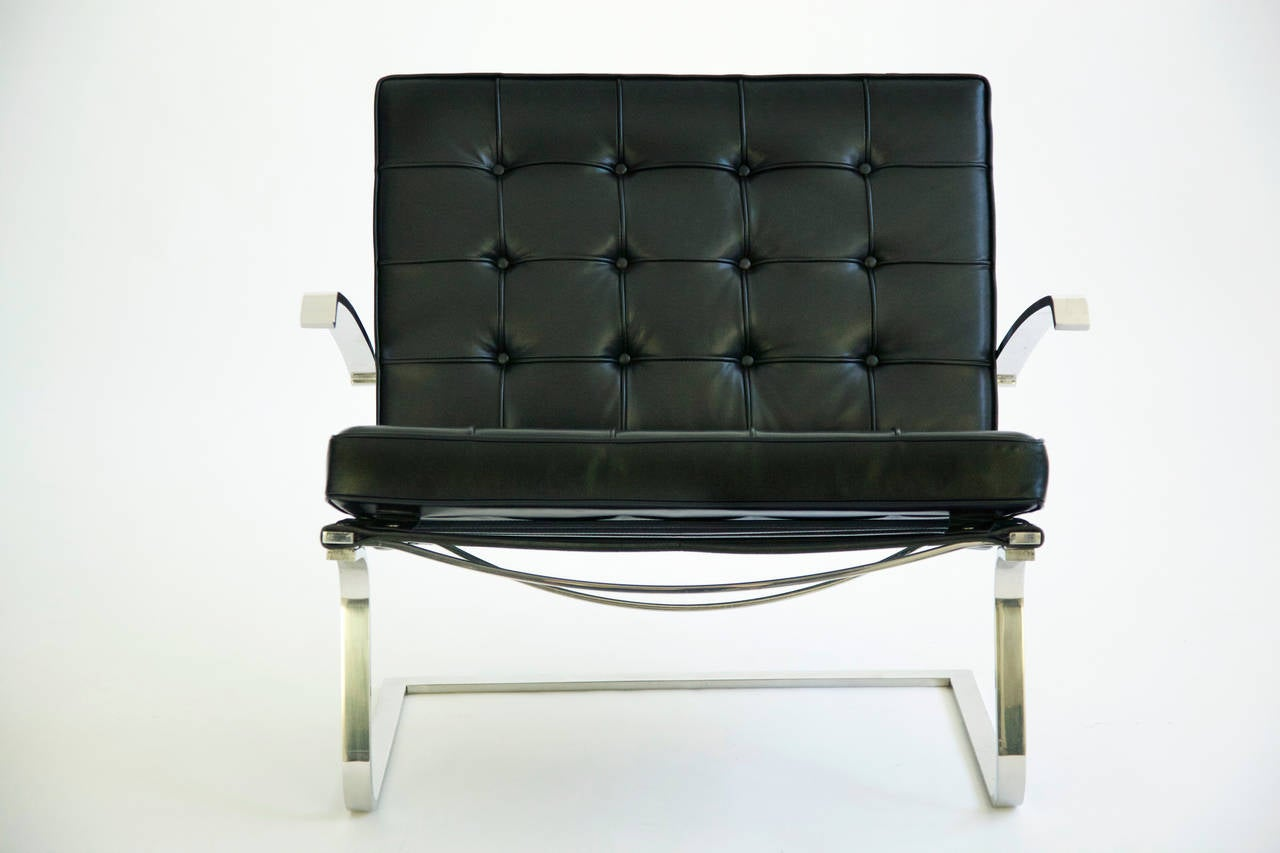 Pair of mies van der rohe tugendhat chairs for sale at 1stdibs for Van der rohe furniture