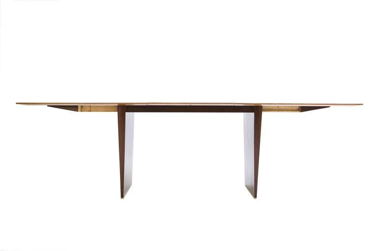 Dining table by edward wormley at 1stdibs for 108 inch dining room table