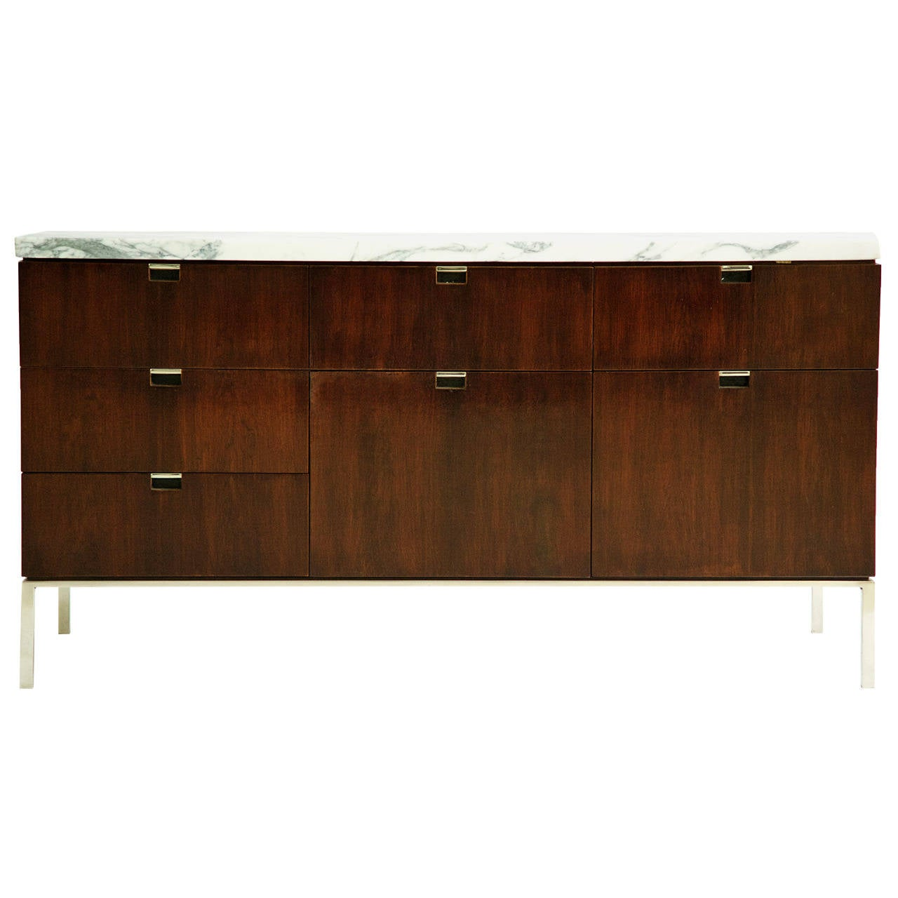 Florence Knoll Credenza Custom Marble Top