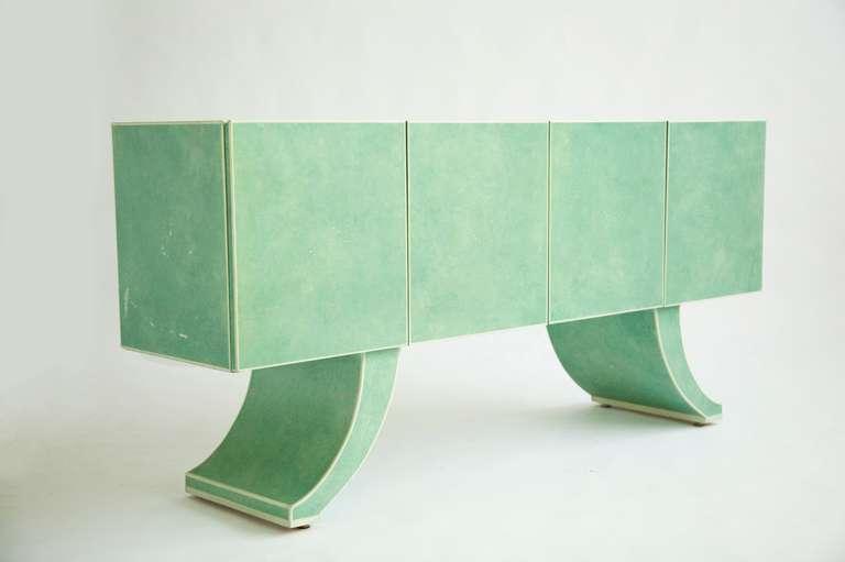 Mid-Century Modern Milo Baughman Sideboard Customized by Richard Himmel For Sale