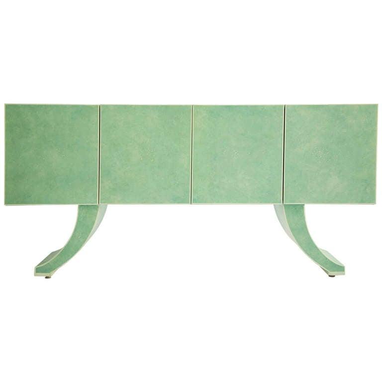 Milo Baughman Sideboard Customized by Richard Himmel For Sale
