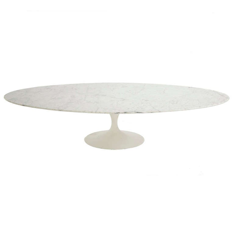 Eero Saarinen Custom Tulip Coffee Table At 1stdibs