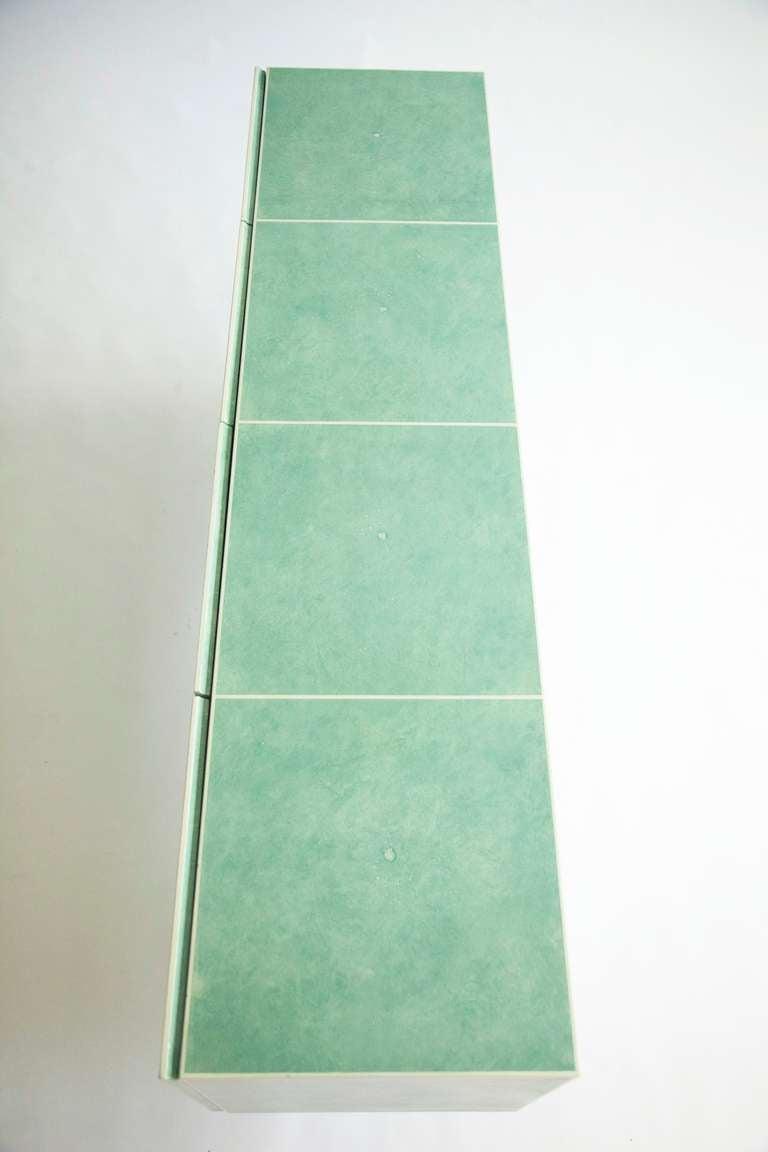 Milo Baughman Sideboard Customized by Richard Himmel For Sale 3