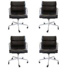 Charles Eames Soft Pad Chairs