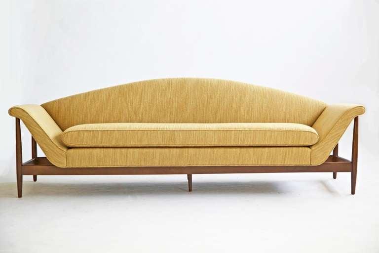 Gondola Sofa Danish Modern For Sale at 1stdibs