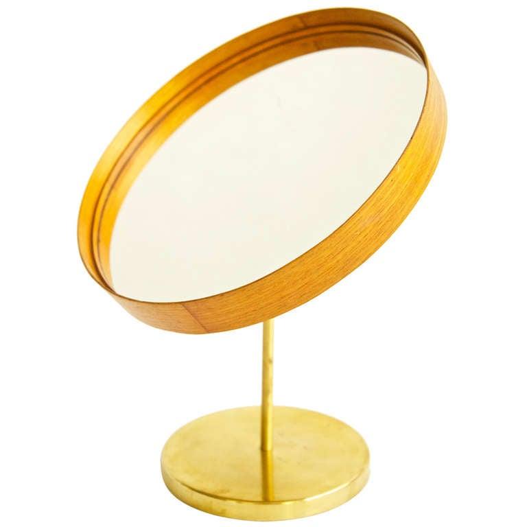 Modern Tabletop Vanity Mirror : L g