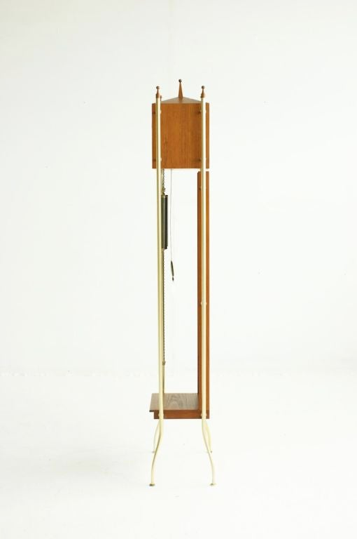 "George Nelson ""Swag-leg"" Grandfather Clock at 1stdibs"