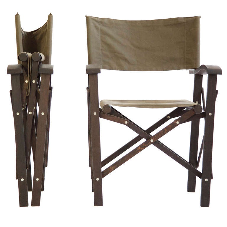 Christian Liaigre Directors Chairs at 1stdibs