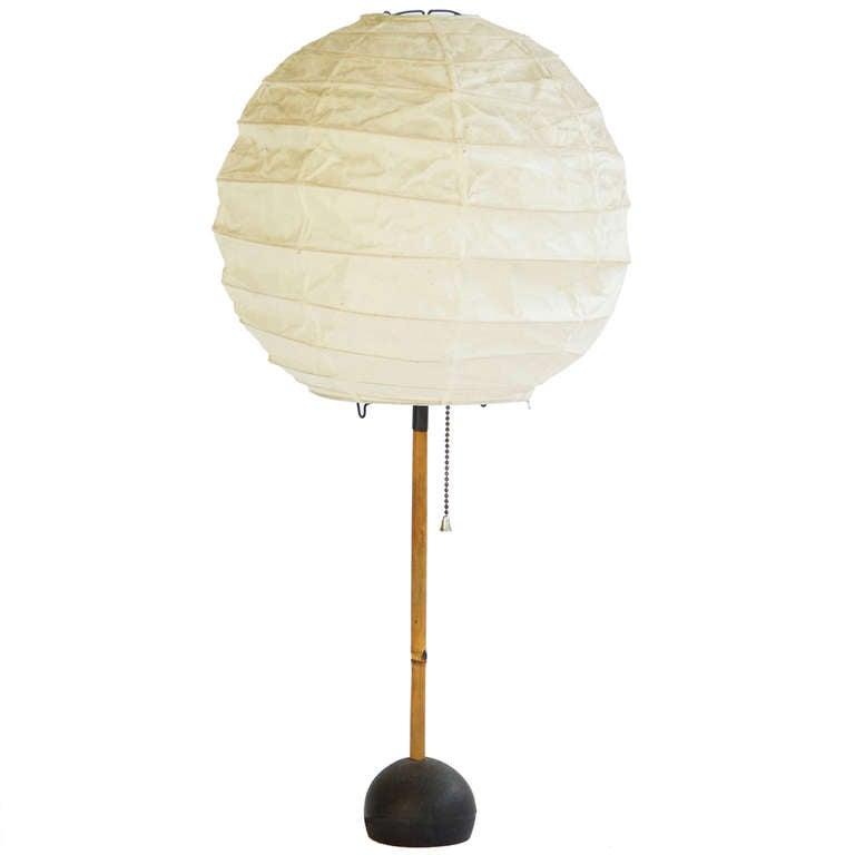 Early Isamu Noguchi Lamp at 1stdibs