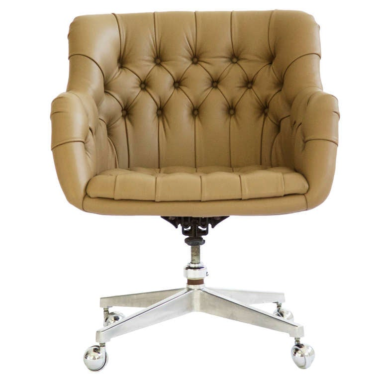 tufted office chair 2