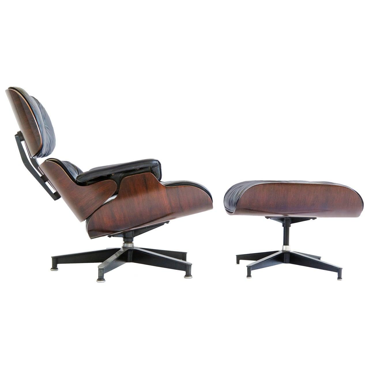 Eames 670 Lounge Chair and Ottoman at 1stdibs