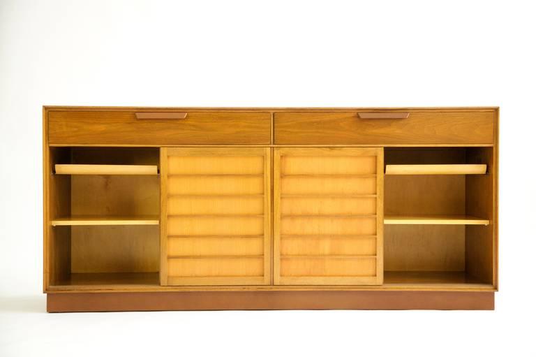 Mid-Century Modern Edward Wormley Sideboard For Sale