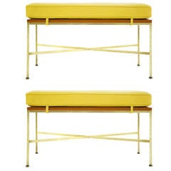 Paul McCobb Pair of Benches for Directional