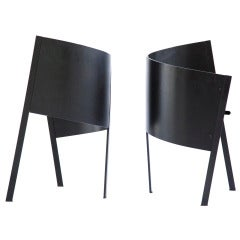 Pair of Paolo Pallucco SideChairs