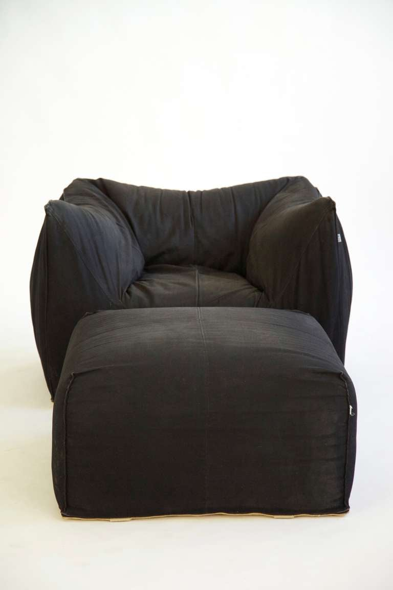 Mario Bellini Lounge Chair and Ottoman 4