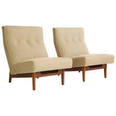 Jess Risom Lounge Chairs Pair