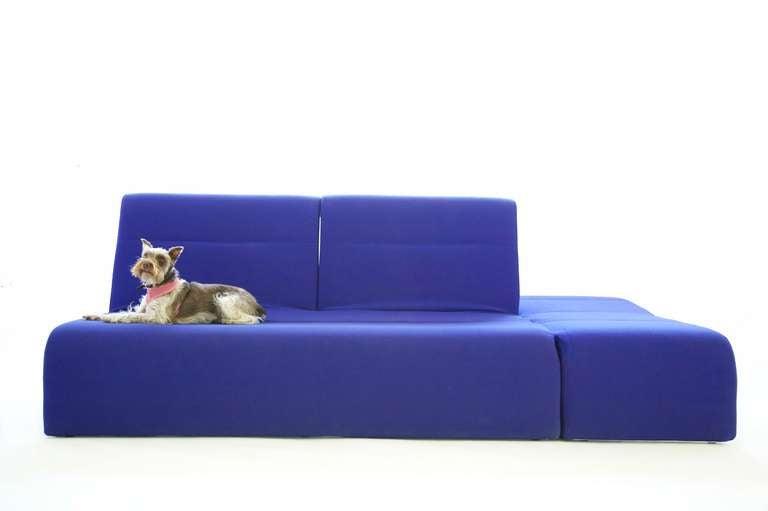 Ligne roset sofa bed at 1stdibs for Sofa bed 54 wide