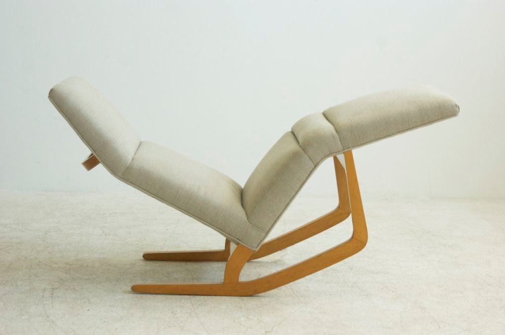 John Keal Chaise Three Position Chaise At 1stdibs