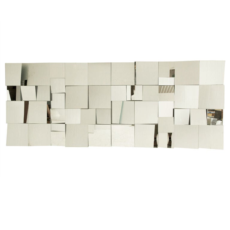 "Neal Smalls ""Slopes"" Mirror Wall"