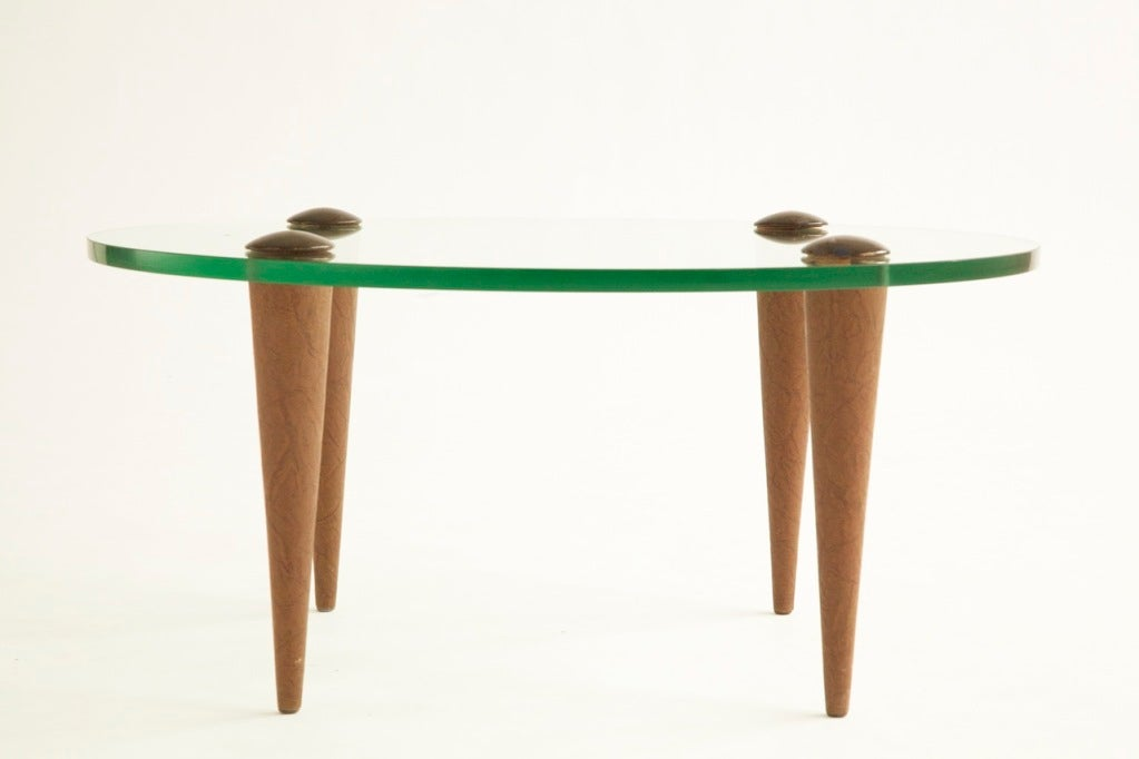Art Deco Gilbert Rohde Cocktail Table for Herman Miller For Sale