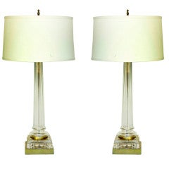 Pair of Lamps by Chapman