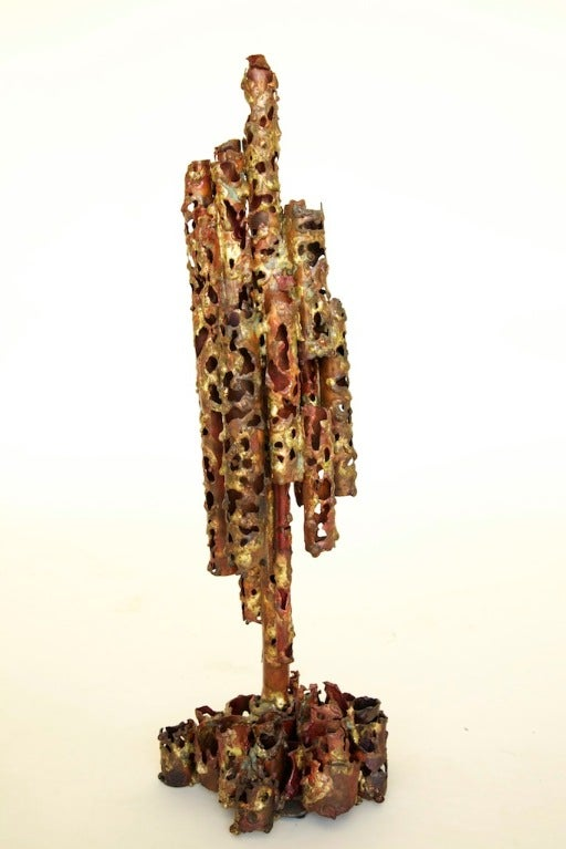 Marcello Fantoni, Untitled, Copper and Steel, 1960  This item is currently on view in our NYC Greenwich Street Location.